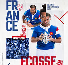 tournois 6 nations France Ecosse 2019